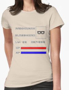 RolePlay Nerd Stats Womens Fitted T-Shirt
