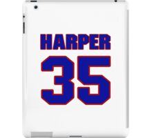 National football player Roland Harper jersey 35 iPad Case/Skin
