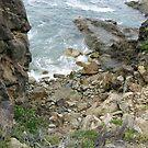 Coastline near Tathra, NSW, Australia by Stephen  Shelley