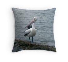 The Pelican Throw Pillow