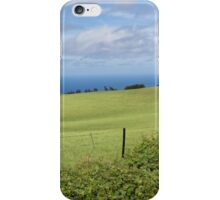Kohala countryside iPhone Case/Skin