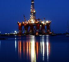 Portland Oil Rig #2 by Rebecca McLean