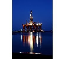 Portland Oil Rig #2 Photographic Print