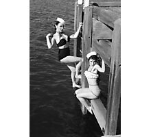 A couple of sailors Photographic Print
