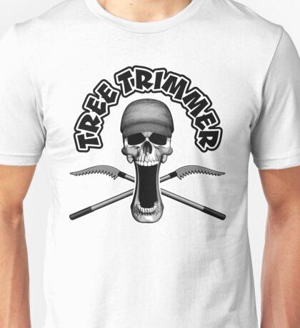 Tree Trimmer Skull Unisex T-Shirt