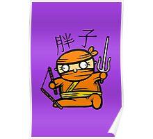 Fatty Ninja Poster