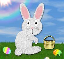 Happy Easter Card #2 by BluAlien