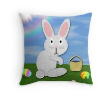Happy Easter Card #2 Throw Pillow