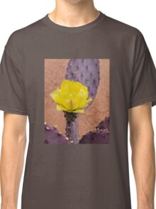 Yellow and Purple Classic T-Shirt