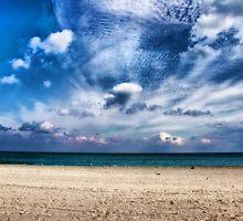 Sand, Sea & Sky by Roland Pozo
