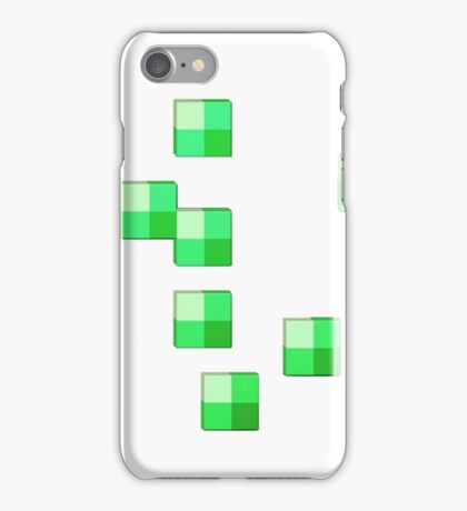 MineCraft Emerald Ore  iPhone Case/Skin