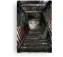 To The Basement Canvas Print