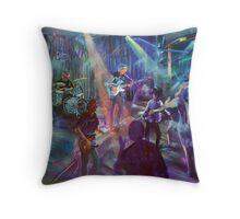 the Pleasure Kings - artist Bob Gammage Throw Pillow