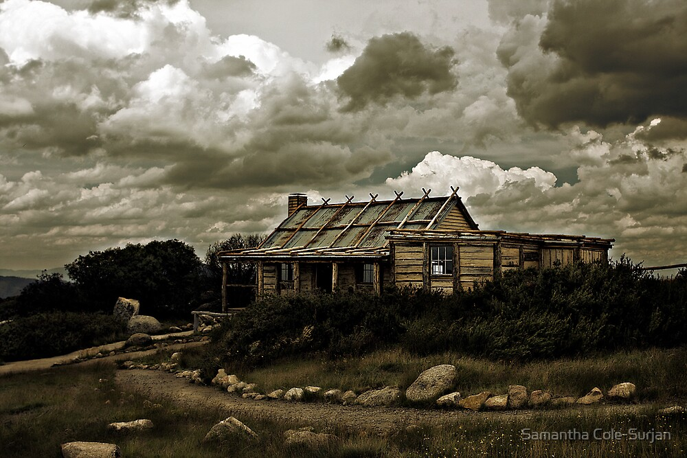 Craig's Hut, Mt Sterling by Samantha Cole-Surjan