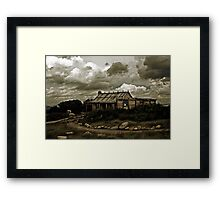 Craig's Hut, Mt Sterling Framed Print