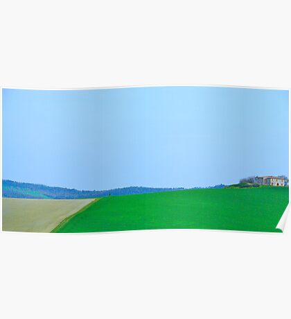 Simply Tuscan I Poster