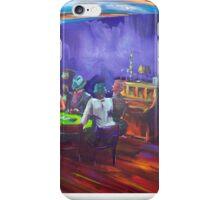 Maritas Garage - artist Bob Gammage iPhone Case/Skin
