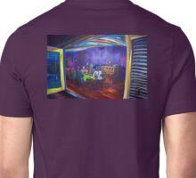 Maritas Garage - artist Bob Gammage Unisex T-Shirt