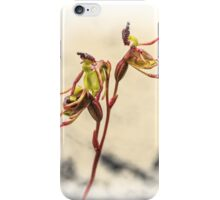 Small Duck Orchid iPhone Case/Skin