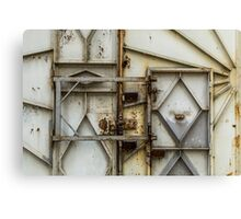 Abandoned Opening Canvas Print
