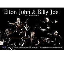 Billy Joel & Elton John Photographic Print