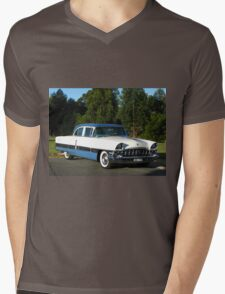 Packard #12 - 1956 Patrician White & Blue T-Shirt