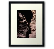 One last drink Framed Print