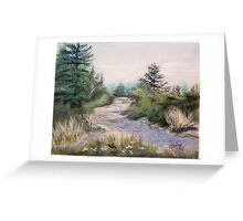 Summit Cadillac Mountain Greeting Card