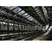 Train Shed Photographic Print