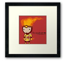 Firestorm Framed Print