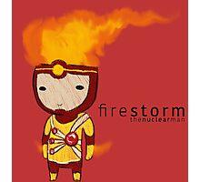 Firestorm Photographic Print