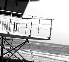 Lifeguard Tower by Kimberly Johnson