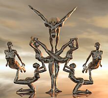 The Contortionists by Lisa  Weber