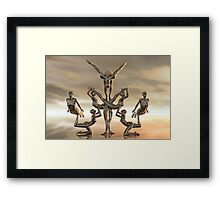 The Contortionists Framed Print