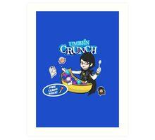 Umbr'n Crunch Art Print