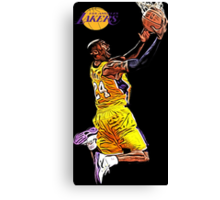 L.A. Lakers Air Quality Canvas Print