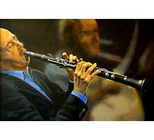 Jazz Improvisation Photographic Print