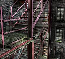 Fire Escape by Richard Shepherd