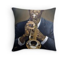 Groovin' High Throw Pillow