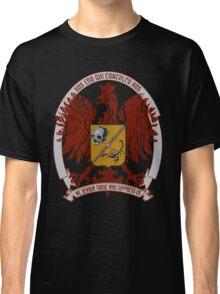 We Devour Those Who Suppress Us-CREST Classic T-Shirt