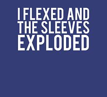 The Sleeves Exploded Funny Body Builder Unisex T-Shirt