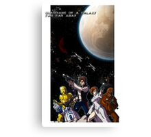 Guardians of a Galaxy Far Far Away Canvas Print