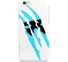 Rush Claw Mark (Blue) iPhone Case/Skin