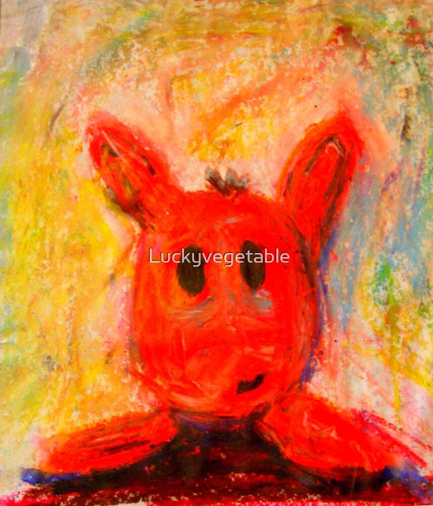 Bunnyhead by Luckyvegetable