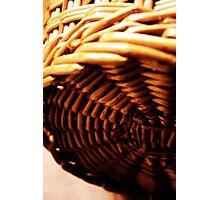 Basket Photographic Print