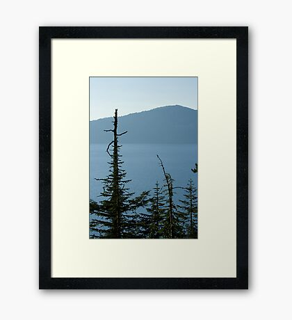 Crater Lake 2 Framed Print