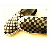 checkers Art Print