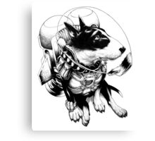 Jetpack Dog | Curtiss Canvas Print