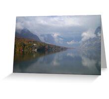 Lake Bohinj, Slovenia Greeting Card