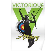 Victorious Archery Girl  Poster
